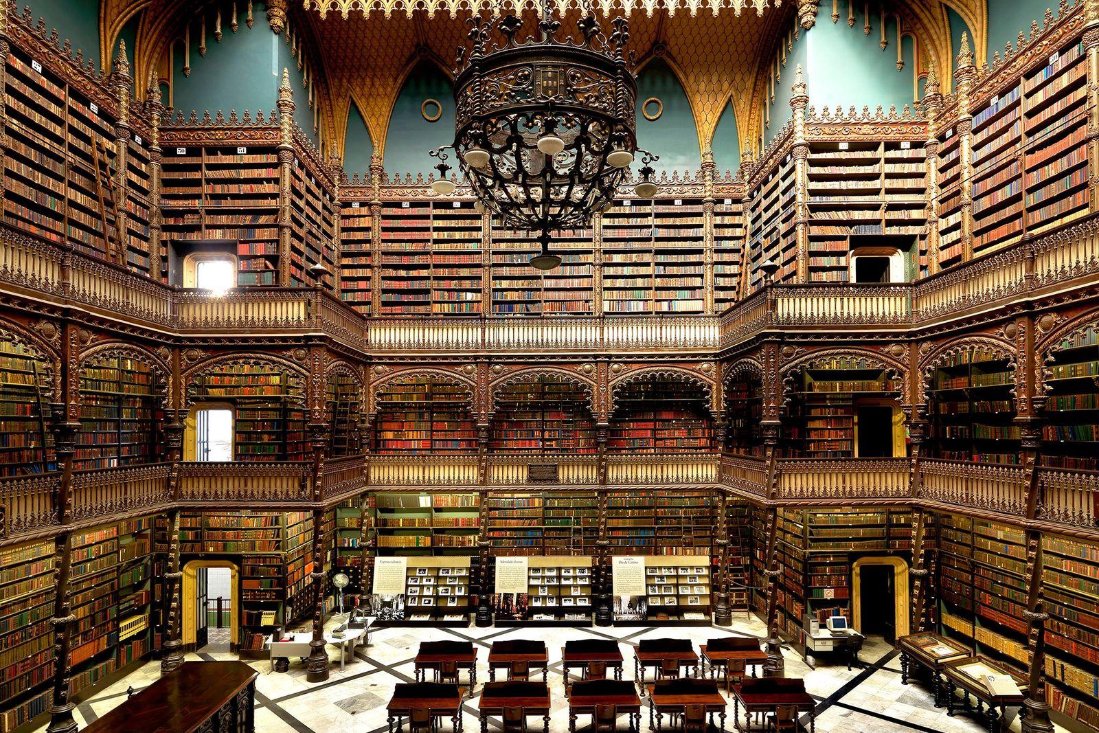 Real Gabinete Português de Leitura, Río de Janeiro, Brasil