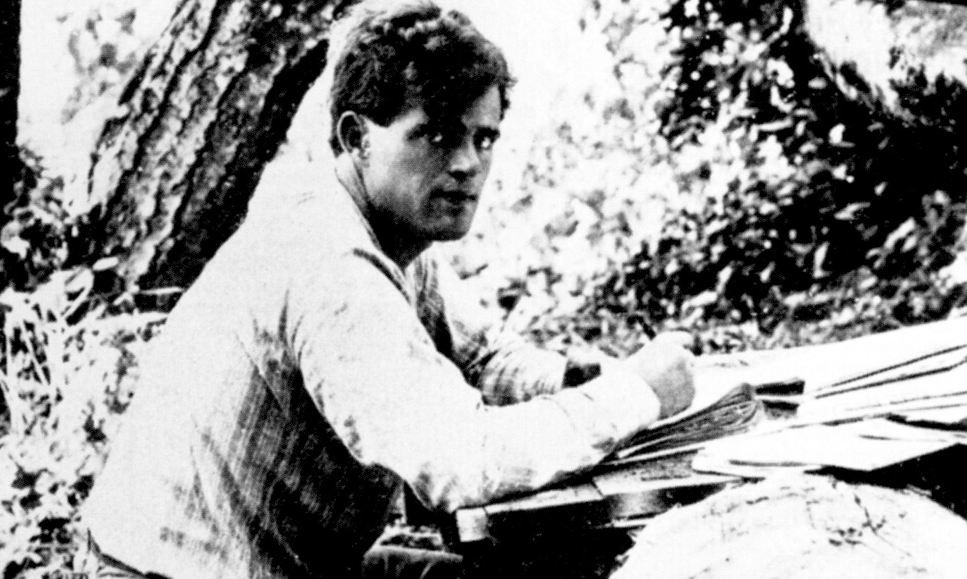Jack London, California, 1905