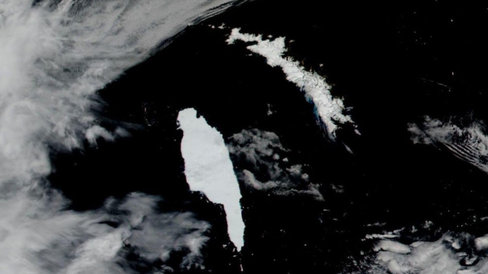 Iceberg antártico A-68A