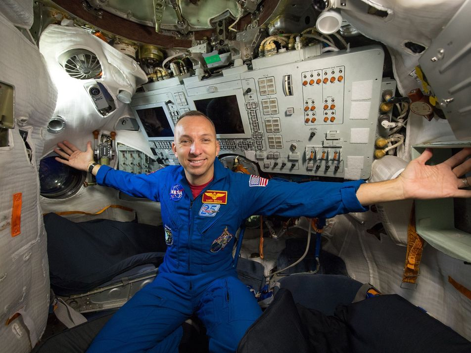 ¿A dónde van de vacaciones los astronautas?
