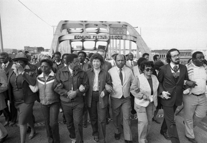 John Lewis y otros líderes