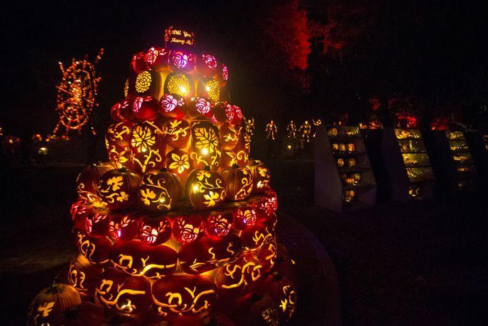 Festival de calabazas de Halloween en Sleepy Hollow