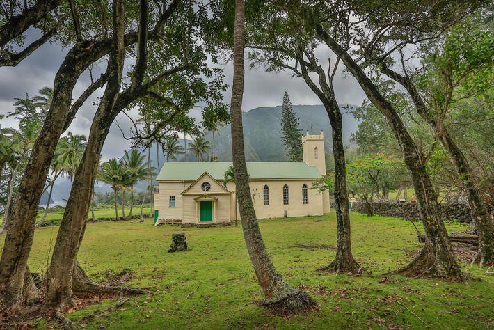 La iglesia de santa Filomena