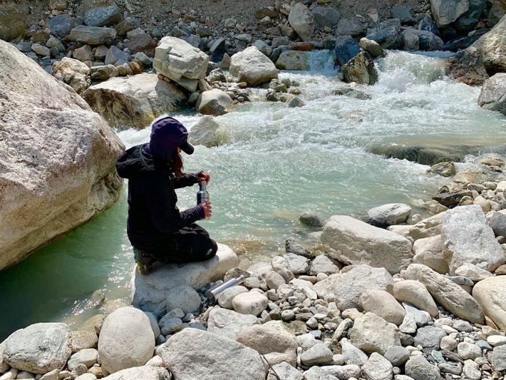 Fotografía de Heather Clifford en Nepal