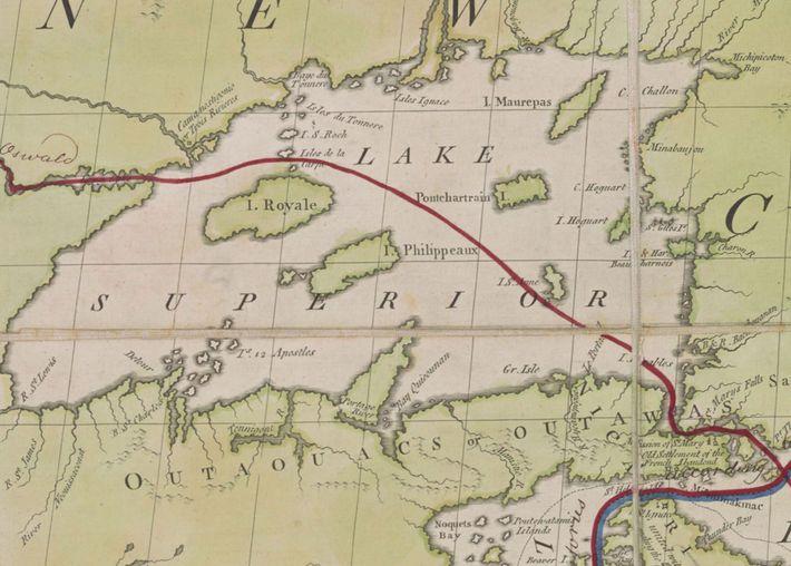 Phelippeaux, Pontchartrain, Maurepas y St. Anne.