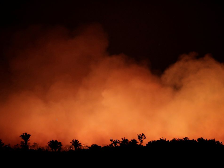 El número de afectados a causa del humo sigue aumentando cerca de los incendios del Amazonas