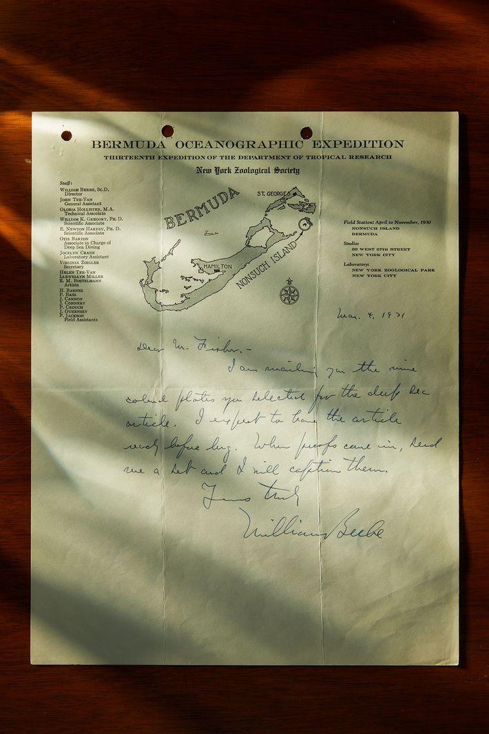 Carta de la batisfera