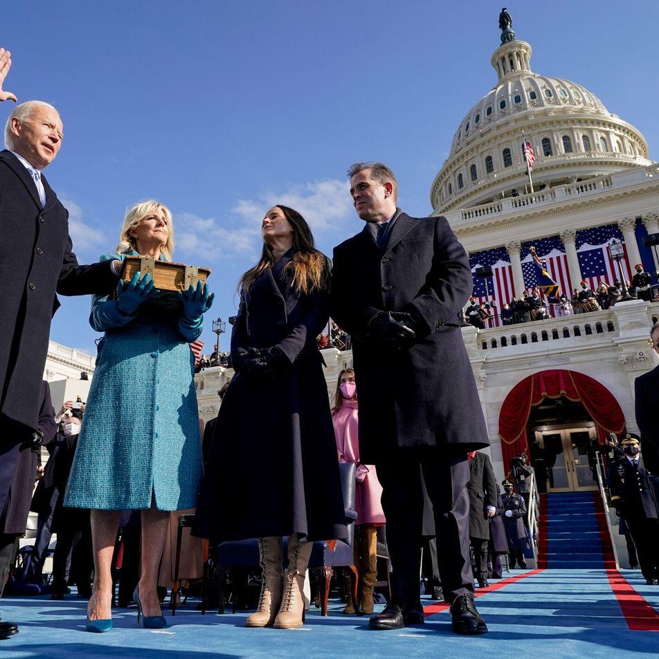 La investidura «virtual» de Joe Biden marca el comienzo de una era transformada
