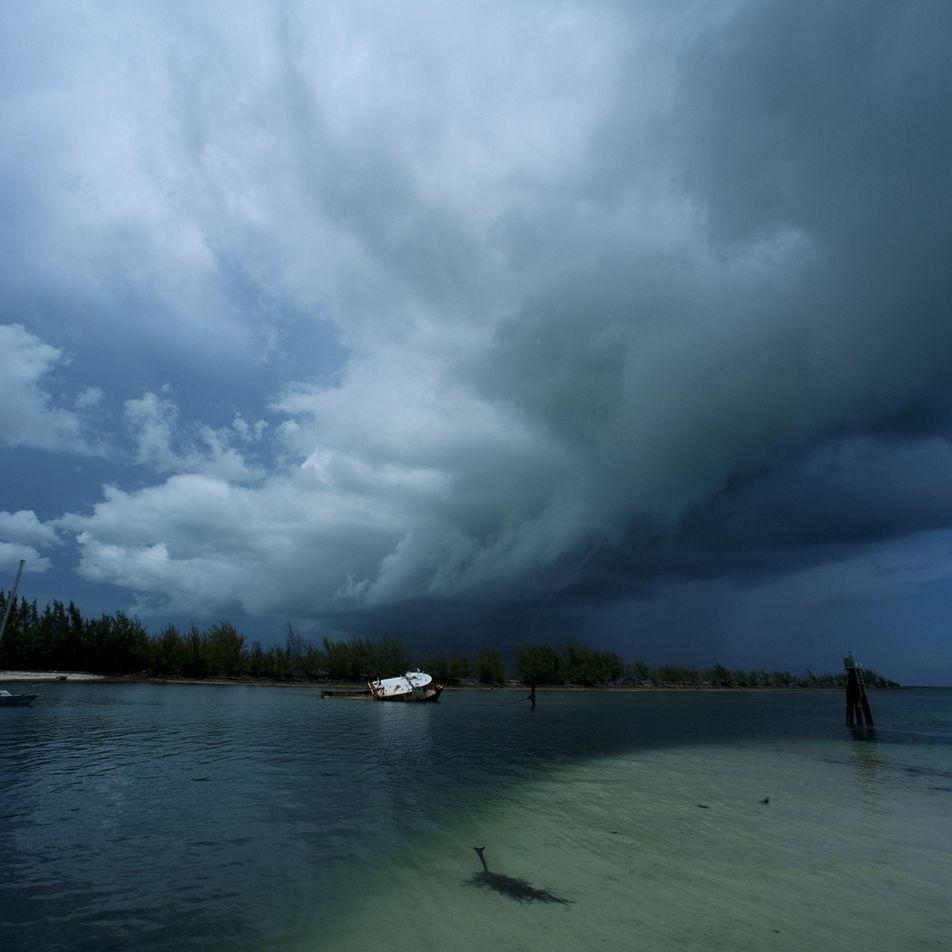 Los agujeros azules del Caribe contienen los «fantasmas» de los huracanes pasados