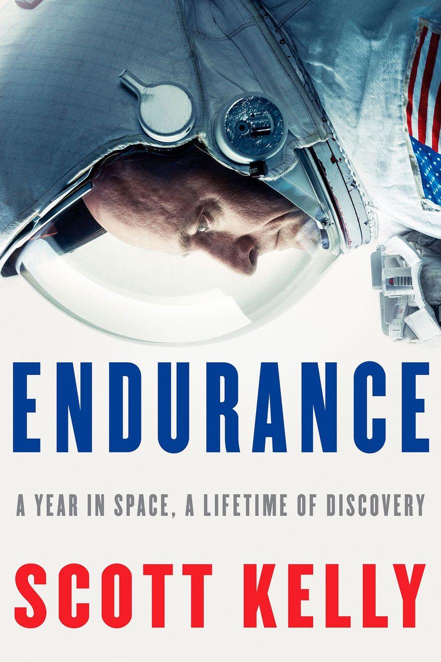 Portada de Endurance, el libro de Scott Kelly.