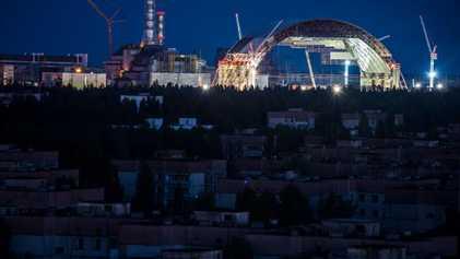 Una nueva tumba para las ruinas radiactivas de Chernóbil