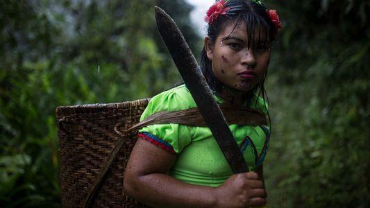 Imágenes: las tenaces mujeres de la aldea de La Puria