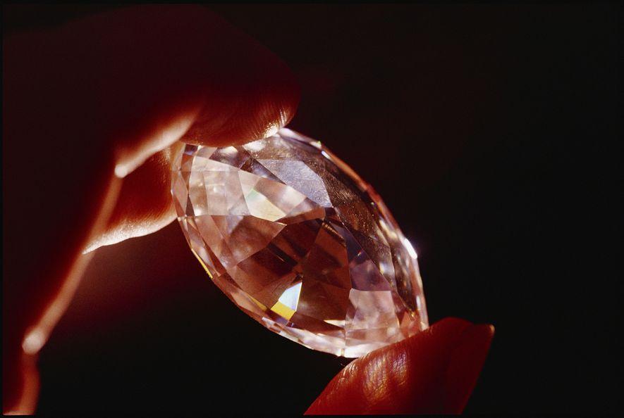 Un diamante de nueve quilates