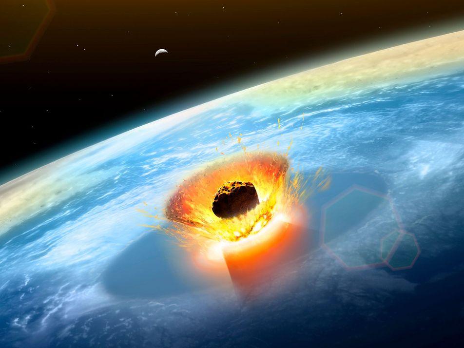 Un asteroide provoca una enorme explosión sobre el mar de Bering