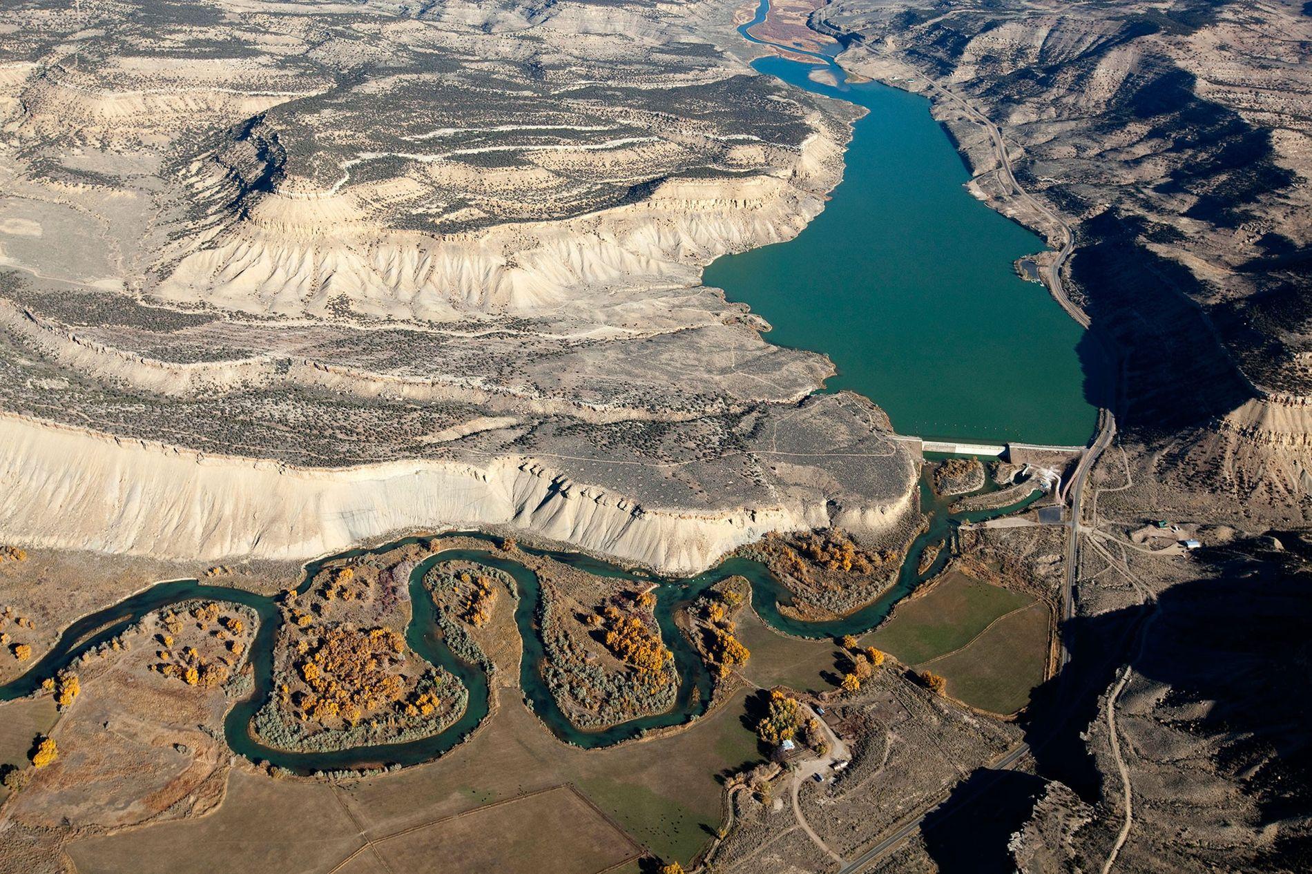 El río Colorado