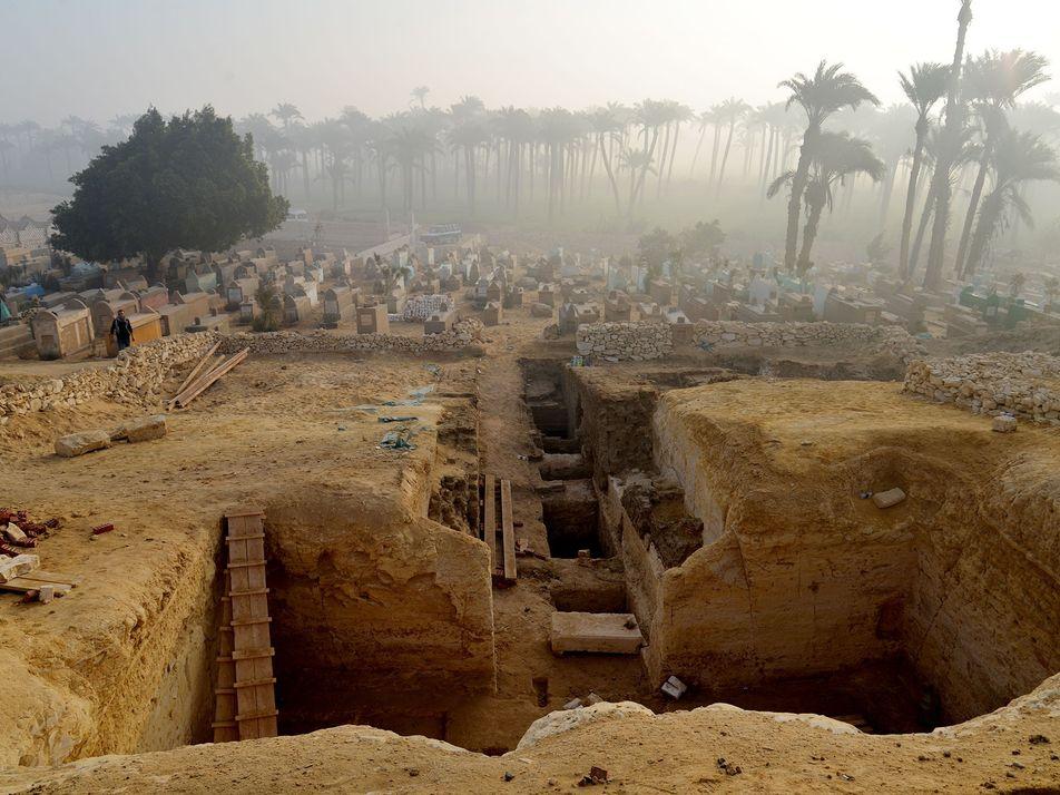 Revelan más de 800 tumbas egipcias en una antigua necrópolis
