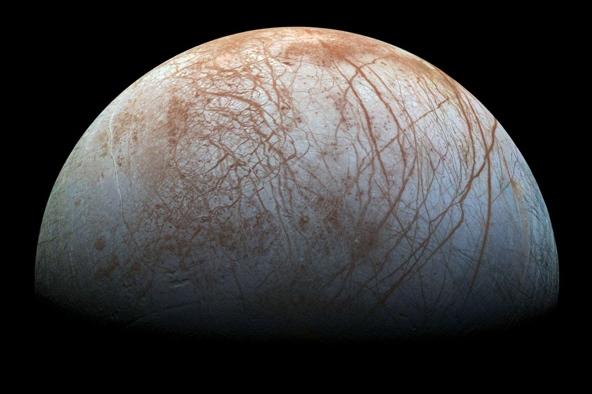 La luna Europa