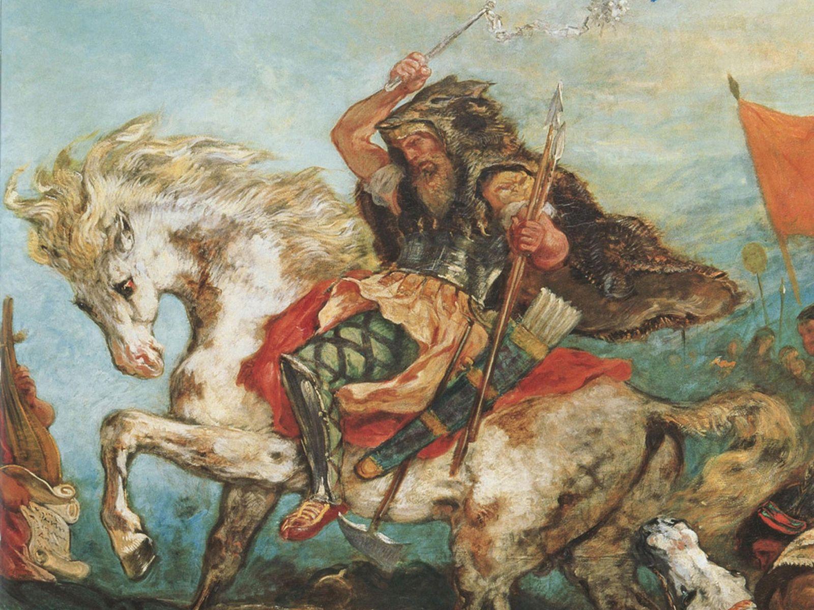 Atila el Huno y su ejército