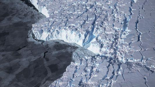 La barrera Larsen C de la Antártida podría romperse y formar un iceberg de 6.400 kilómetros ...