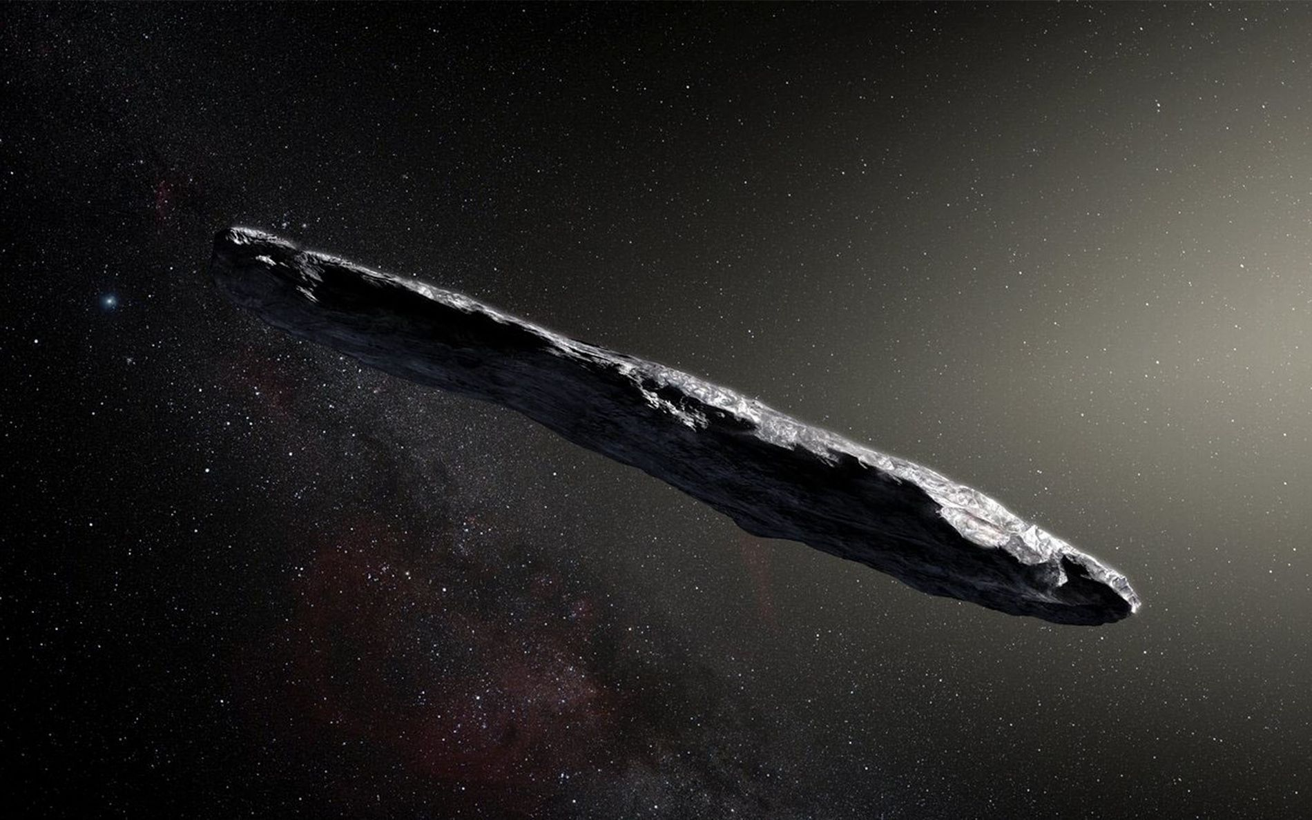 Asteroide interestelar 'Oumuamua