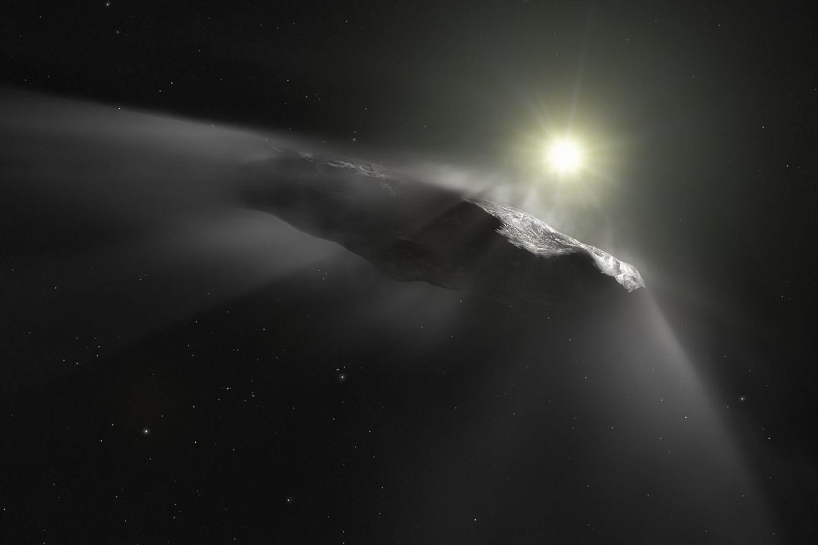 El asteroide 'Oumuamua