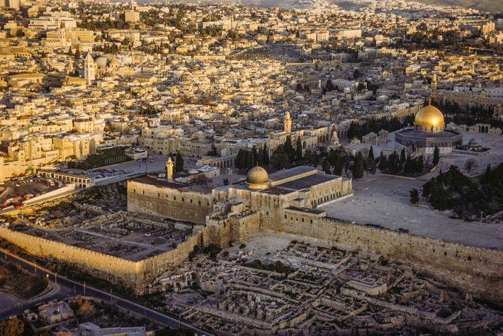 Monte del Templo o Explanada de las Mezquitas