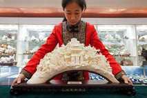 Mercado de marfil chino