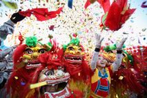 Artistas folclóricos chinos