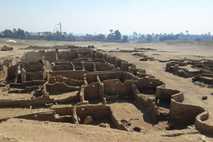 Imagen de las ruinas de la ciudad perdida de Luxor