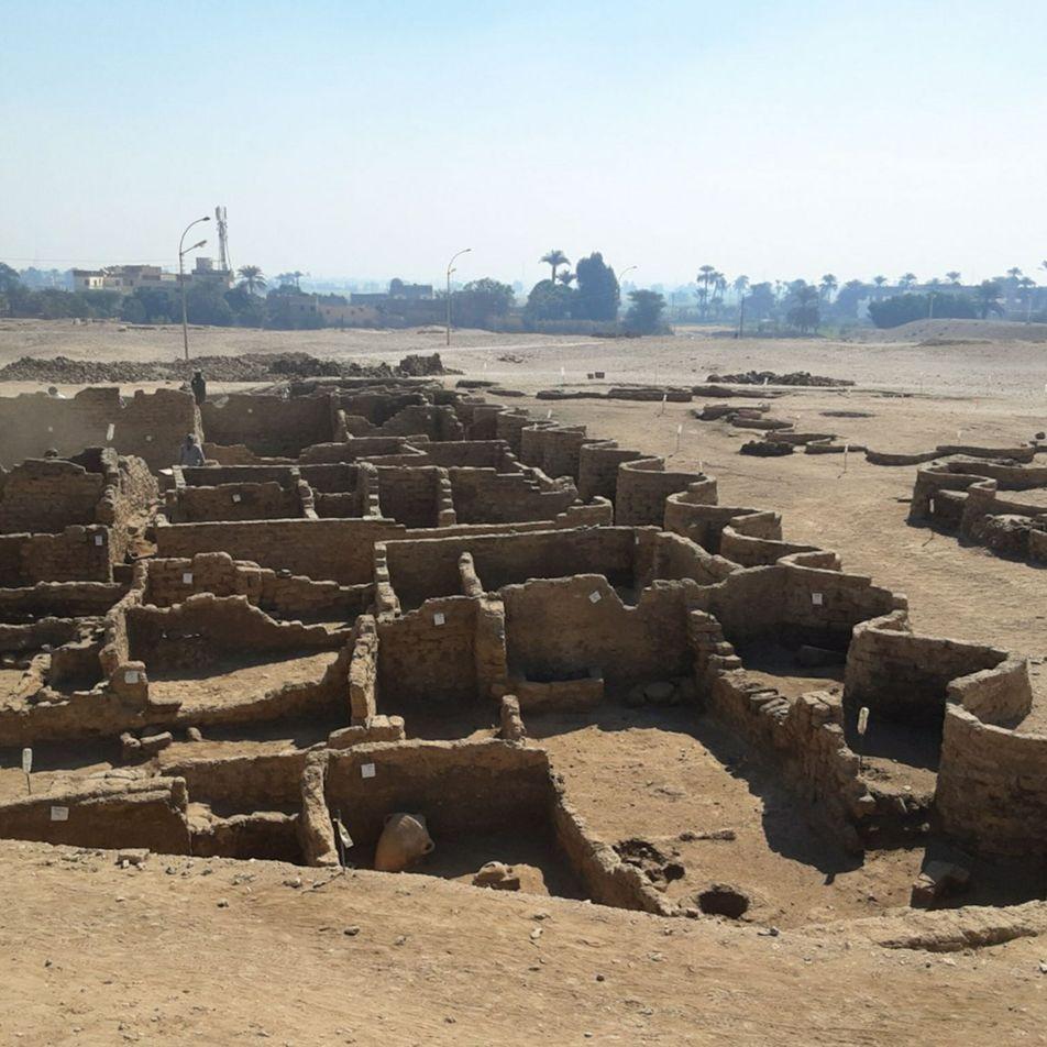 Descubren la «ciudad dorada perdida de Luxor» en Egipto