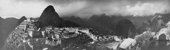 Machu Picchu desde las alturas