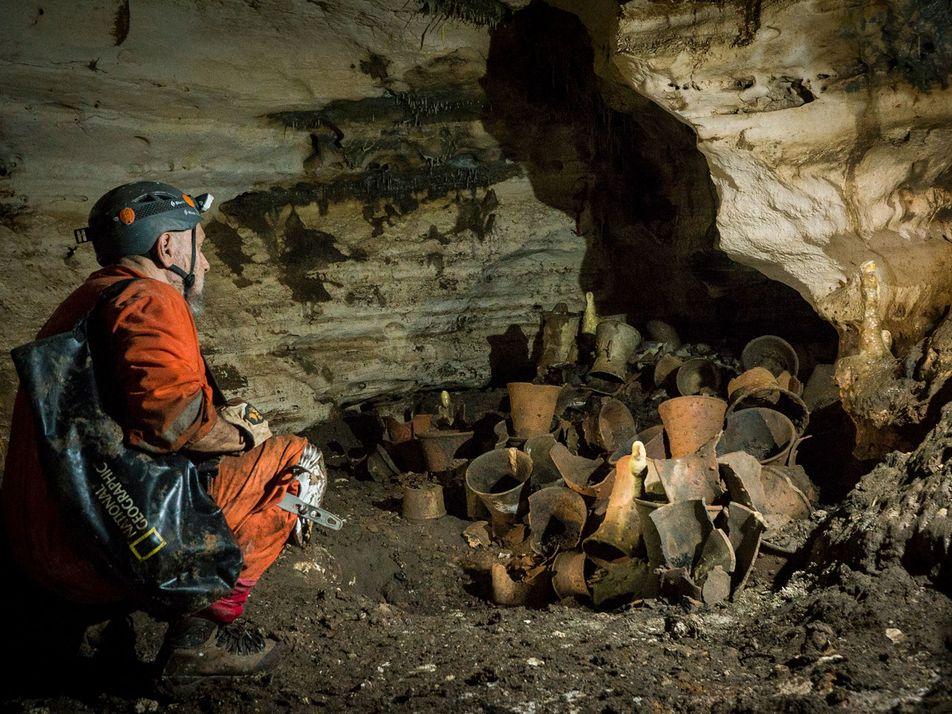 La cueva maya de Balamku