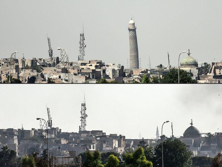Mosul, antes y después