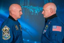 Scott Kelly y Mark Kelly