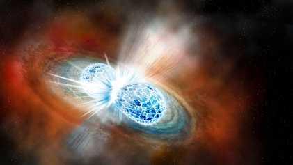 Detectadas las primeras ondas gravitacionales resultantes de la colisión de estrellas de neutrones