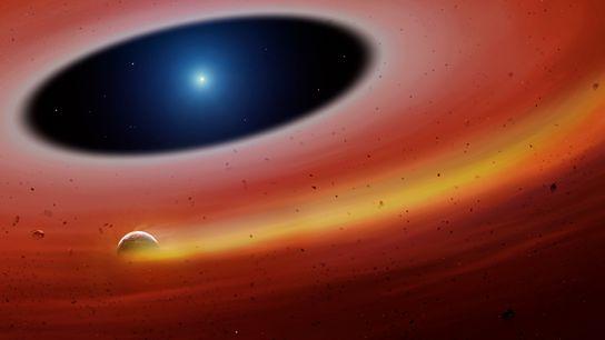 Un fragmento planetario