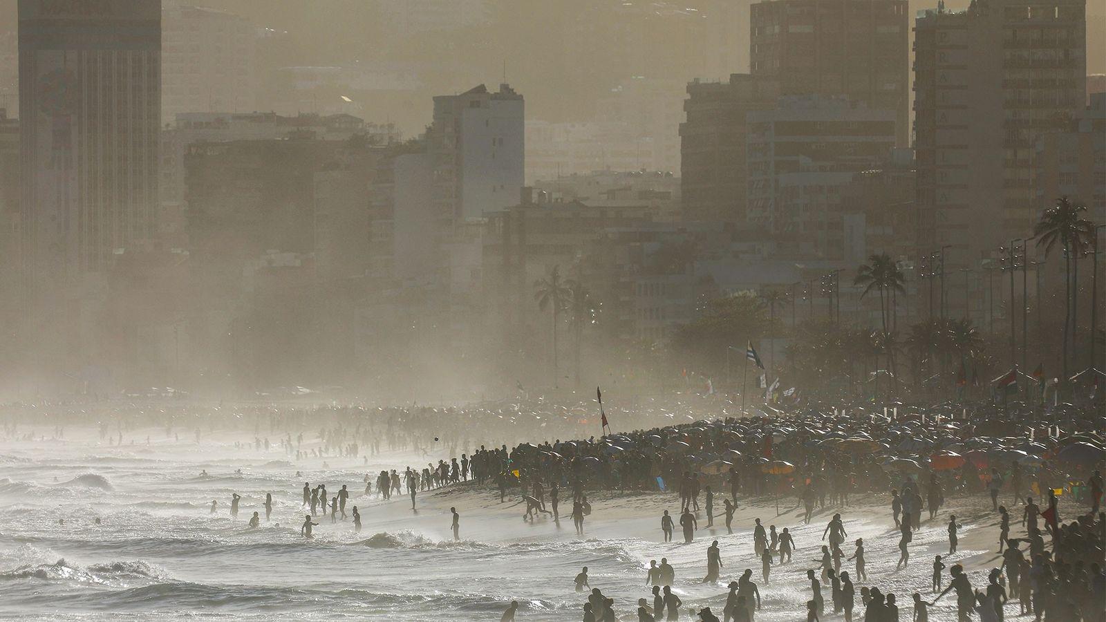 Calentamiento del océano