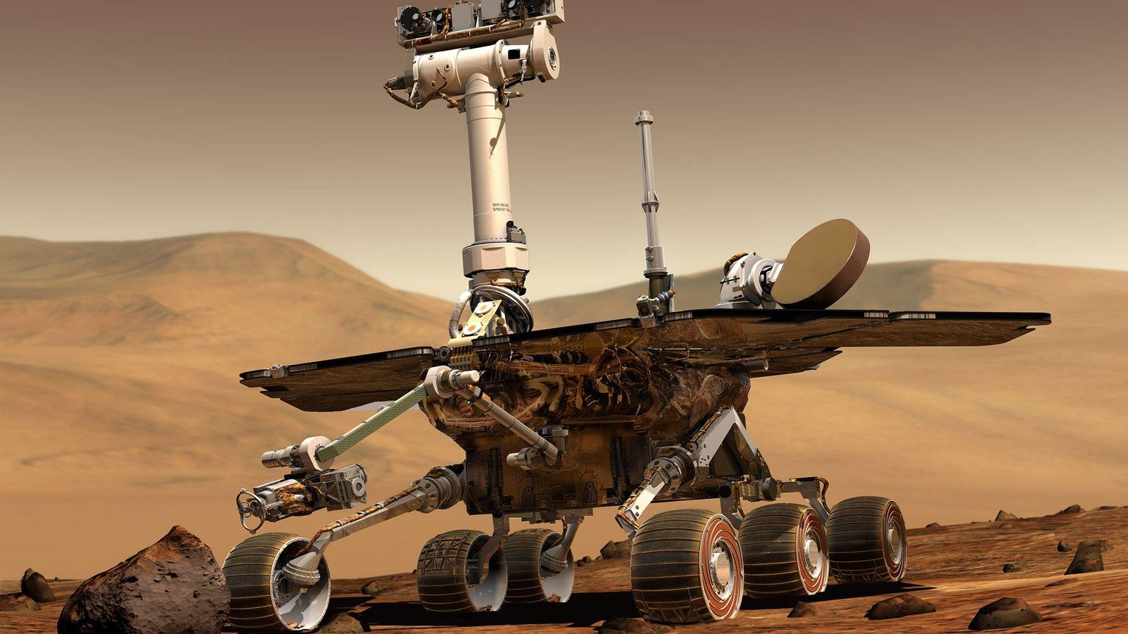 Róver de exploración marciana