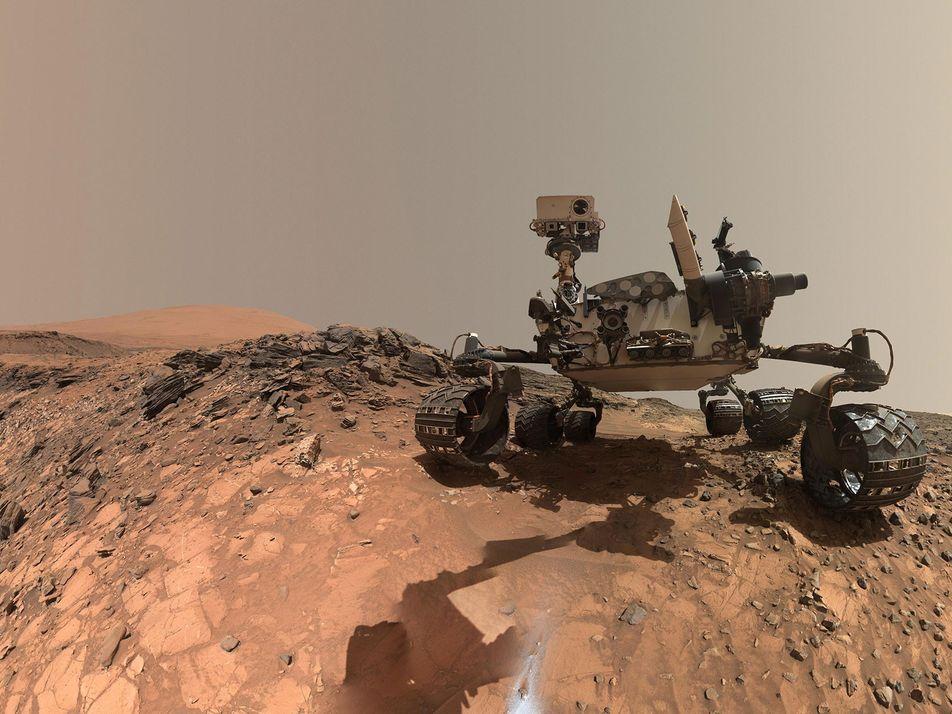 Un misterioso pico de oxígeno observado en Marte desconcierta a los científicos