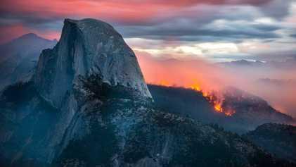 Los incendios forestales: una perspectiva fotográfica entre las llamas que asolan California