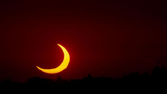 Cómo ver el eclipse solar parcial del 15 de febrero