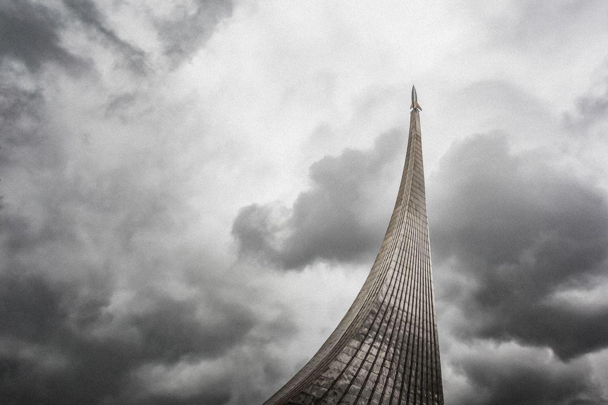 El Monumento a los Conquistadores del Espacio