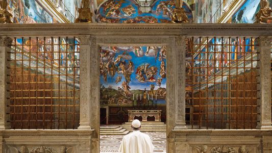 El regalo de Navidad del papa Francisco a un fotógrafo afligido
