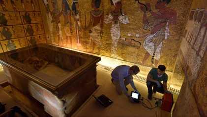Es oficial: la tumba de Tutankamón no tiene cámaras ocultas