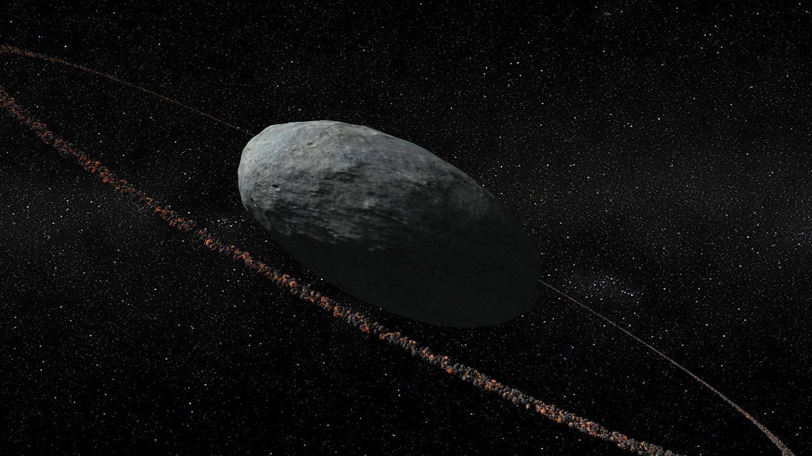 Anillos alrededor de Haumea