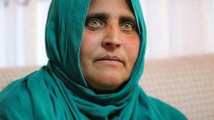 La famosa «niña afgana» por fin tiene un hogar