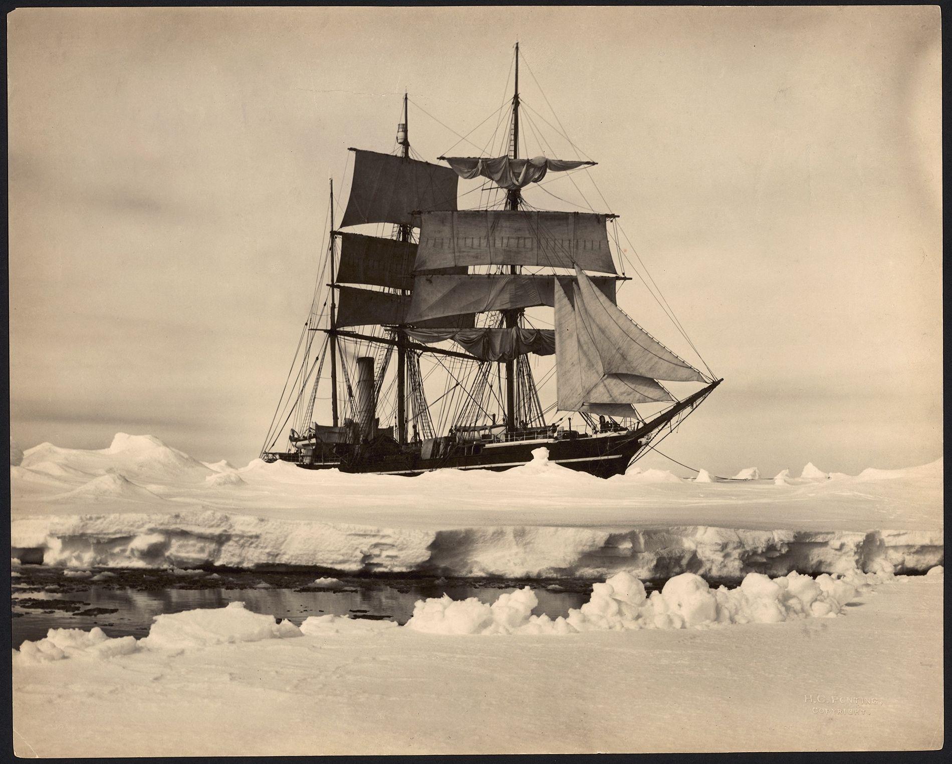 El barco Terra Nova