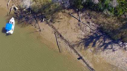 Estos podrían ser los restos del último barco que llevó esclavos a Estados Unidos