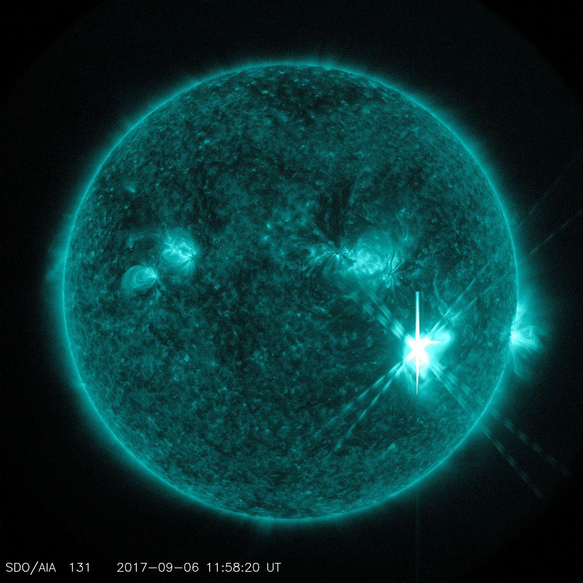 Fulguración solar