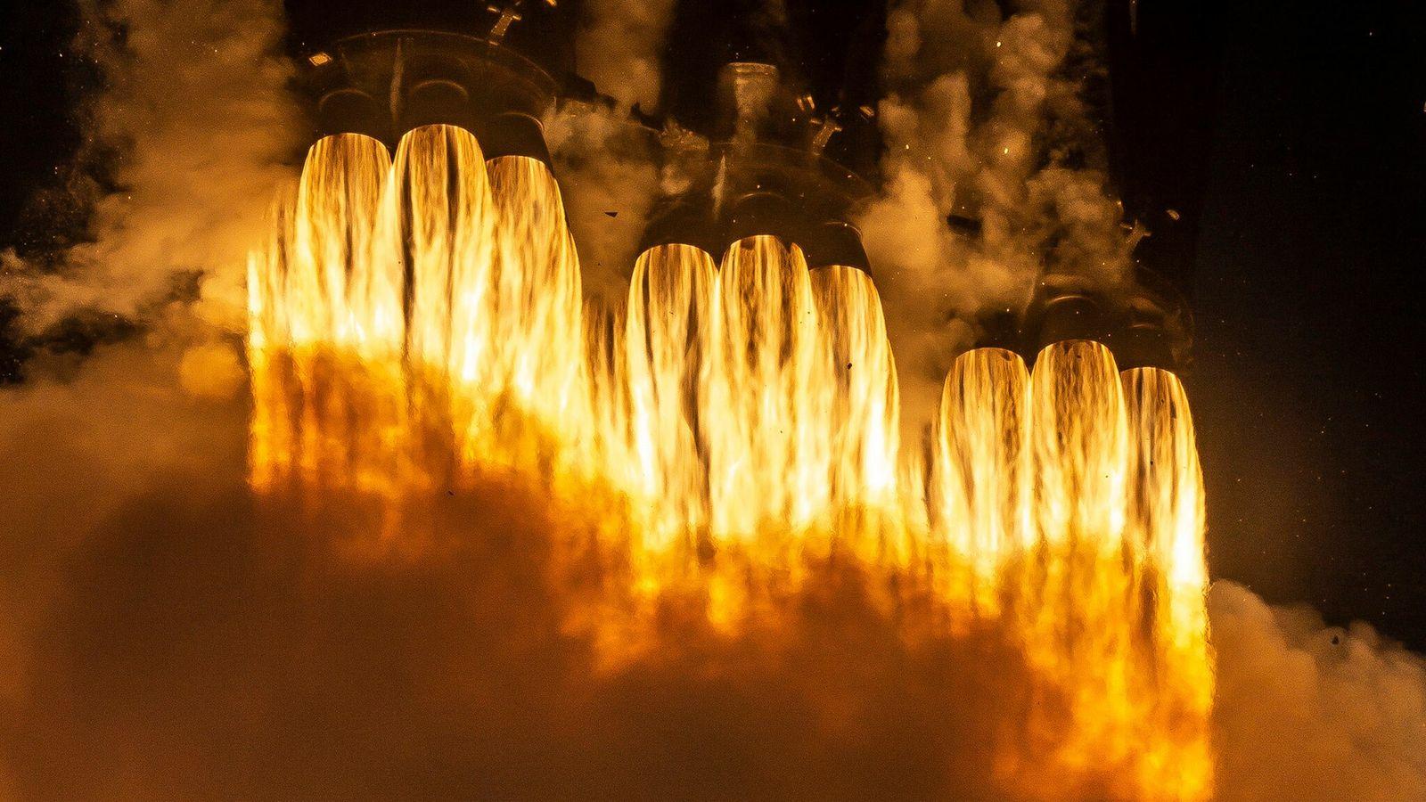 El Falcon Heavy de SpaceX